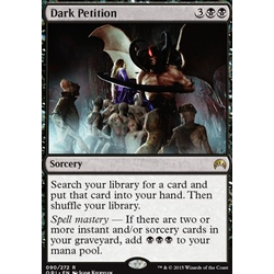Magic löskort: Origins: Dark Petition