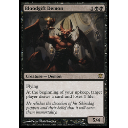Magic löskort: Innistrad: Bloodgift Demon