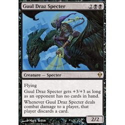Magic löskort: Zendikar: Guul Draz Specter