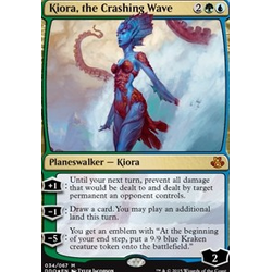 Magic löskort: Duel Decks: Elspeth vs. Kiora: Kiora, the Crashing Wave