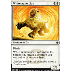 Magic löskort: Masters 25: Whitemane Lion