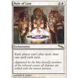 Magic löskort: Mirrodin: Rule of Law