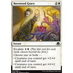 Magic löskort: Eldritch Moon: Borrowed Grace