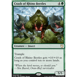 Magic löskort: Commander 2018: Crash of Rhino Beetles