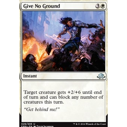 Magic löskort: Eldritch Moon: Give No Ground