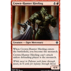 Magic löskort: Conspiracy: Take the Crown: Crown-Hunter Hireling