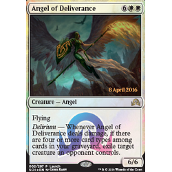 Magic löskort: Shadows over Innistrad: Angel of Deliverance  (Promofoil)