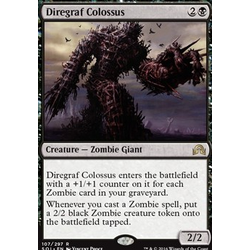 Magic löskort: Shadows over Innistrad: Diregraf Colossus