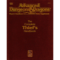 ADD 2nd ed: The Complete Thief's Handbook