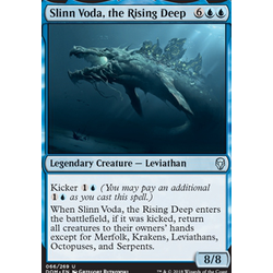 Magic löskort: Dominaria: Slinn Voda, the Rising Deep