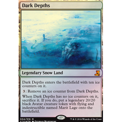 Magic löskort: From the Vault: Lore: Dark Depths (Foil)