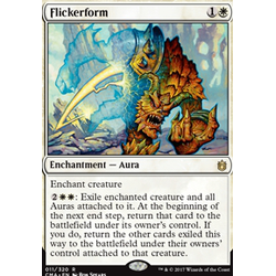 Magic löskort: Commander Anthology: Flickerform