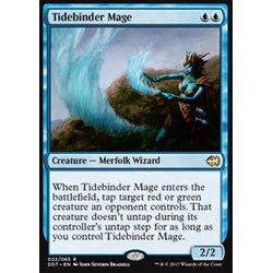 Magic löskort: Duel Decks: Merfolk vs. Goblins: Tidebinder Mage