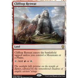 Magic löskort: Dominaria: Clifftop Retreat