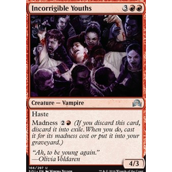 Magic löskort: Shadows over Innistrad: Incorrigible Youths