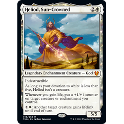 Magic löskort: Theros: Beyond Death: Heliod, Sun-Crowned