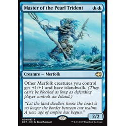 Magic löskort: Duel Decks: Merfolk vs. Goblins: Master of the Pearl Trident