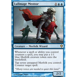 Magic löskort: Zendikar: Lullmage Mentor