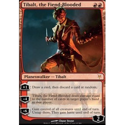 Magic löskort: Duel Decks: Tibalt, the Fiend-Blooded (Duel-Deck Foil)