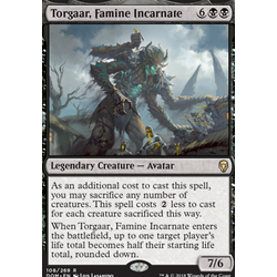 Magic löskort: Dominaria: Torgaar, Famine Incarnate