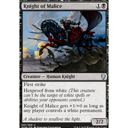 Magic löskort: Dominaria: Knight of Malice
