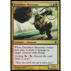 Magic löskort: Alara Reborn: Deadshot Minotaur
