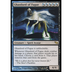 Magic löskort: Shadowmoor: Ghastlord of Fugue