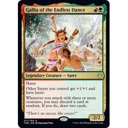 Magic löskort: Theros: Beyond Death: Gallia of the Endless Dance
