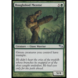 Magic löskort: Shadowmoor Roughshod Mentor