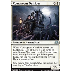 Magic löskort: Eldritch Moon: Courageous Outrider