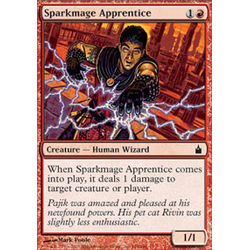 Magic Löskort: Ravnica: Sparkmage Apprentice (Foil)