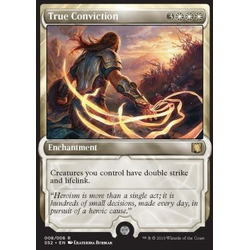 Magic löskort: Signature Spellbook: Gideon: True Conviction