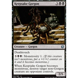 Magic löskort: Conspiracy: Take the Crown: Keepsake Gorgon (Foil)