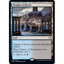 Magic löskort: Theros: Beyond Death: Temple of Deceit