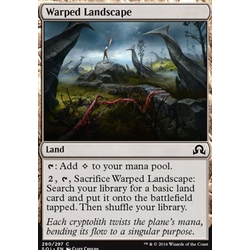 Magic löskort: Shadows over Innistrad: Warped Landscape