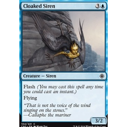 Magic löskort: Conspiracy: Take the Crown: Cloaked Siren
