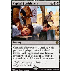 Magic löskort: Conspiracy: Take the Crown: Capital Punishment