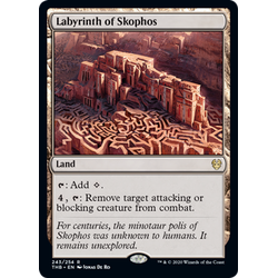 Magic löskort: Theros: Beyond Death: Labyrinth of Skophos