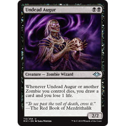 Magic löskort: Modern Horizons: Undead Augur