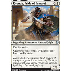 Magic löskort: Dominaria: Kwende, Pride of Femeref