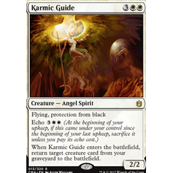 Magic löskort: Commander Anthology: Karmic Guide