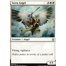 Magic löskort: Commander Anthology: Serra Angel