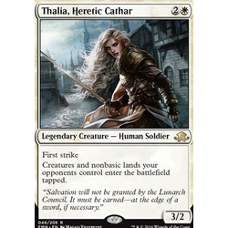 Magic löskort: Eldritch Moon: Thalia, Heretic Cathar
