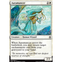 Magic löskort: Masters 25: Auramancer