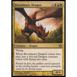 Magic löskort: Shards of Alara: Broodmate Dragon