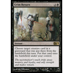 Magic löskort: Magic 2014: Grim Return