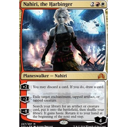 Magic löskort: Shadows over Innistrad: Nahiri, the Harbinger