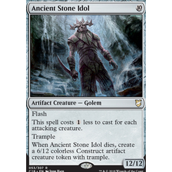 Magic löskort: Commander 2018: Ancient Stone Idol