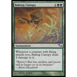 Magic löskort: Shadowmoor Raking Canopy