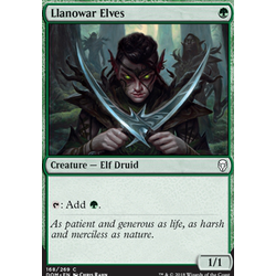 Magic löskort: Dominaria: Llanowar Elves